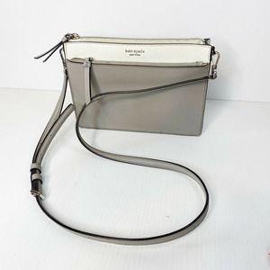 Kate Spade Cameron Zip Leather Crossbody Bag